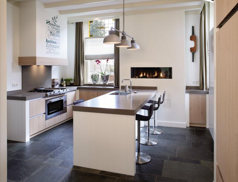 Moderne Tijdloze Keuken : Keukenstudio stoof tijdloze keukens