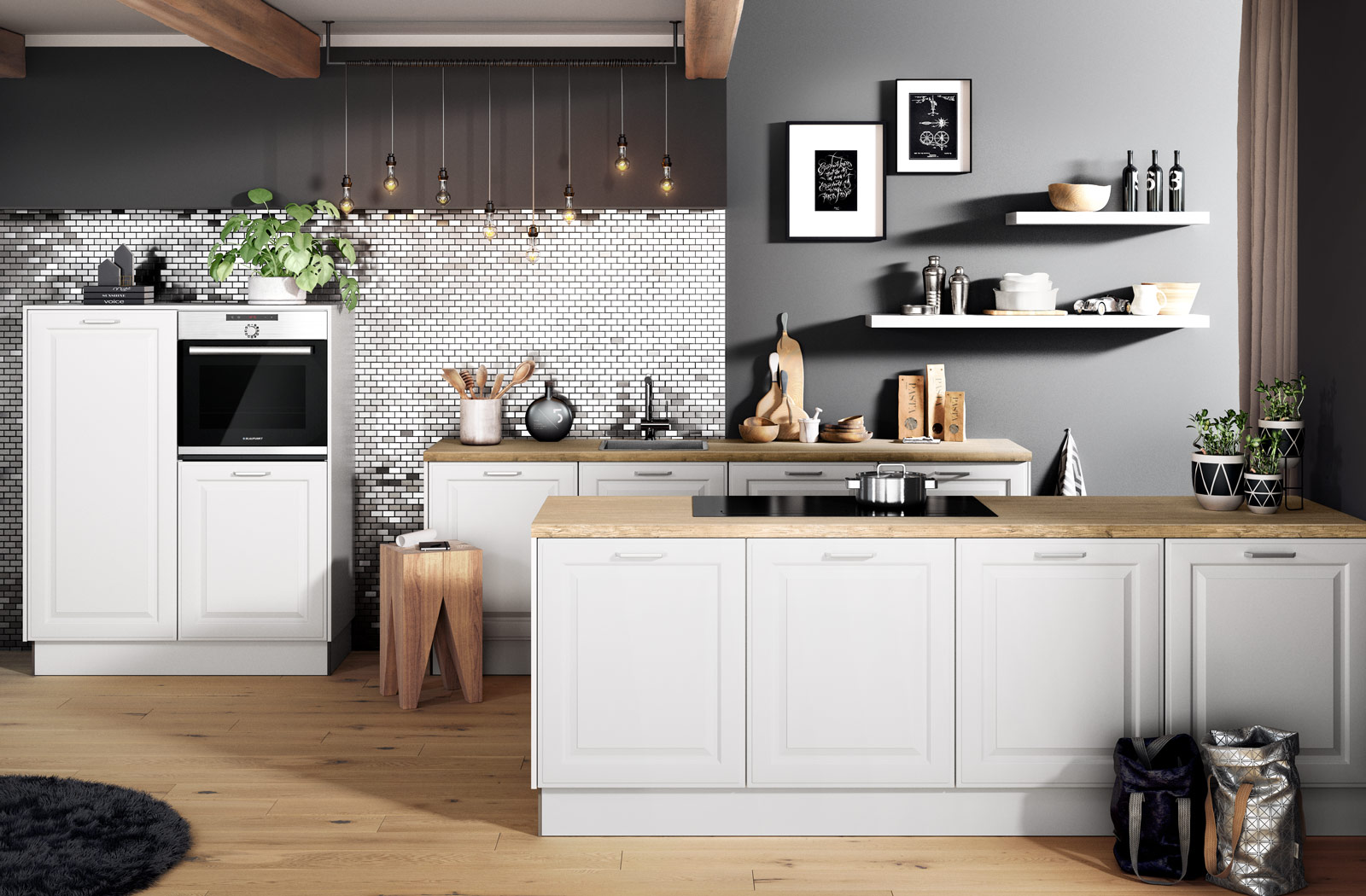 White Keuken Stoere : Keukenstudio stoof landelijke keukens stoer en robuust